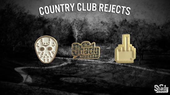 2014.06.13 - Pre-Order Shady Records Country Club Rejects Lapel Pins