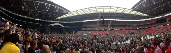Eminem Wembley Stadium 12.07.2014