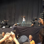 ASAP Rocky and Tyler, The Creator at Wembley yesterday