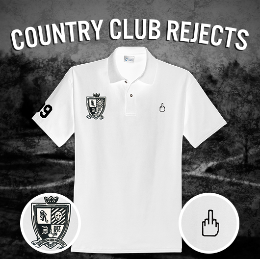 2014.07.09 - Eminem Merch Country Club Rejects Polo White