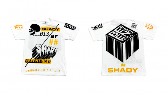 2014.07.18 - Shady Records x Been Trill - Balanced Ideals T-Shirt (White)