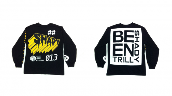 2014.07.18 - Shady Records x Been Trill - Official Long Sleeve T-Shirt (Black)