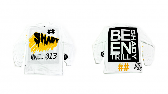 2014.07.18 - Shady Records x Been Trill - Official Long Sleeve T-Shirt (White)