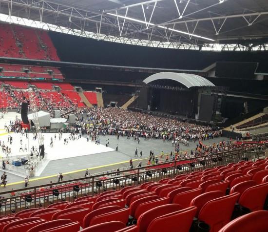 [Концерт] Eminem :: Стадион «Уэмбли» :: 12 июля 2014