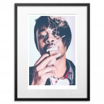 Danny Brown - Adderall Admiral (Signed and numbered by Jeremy Deputat)