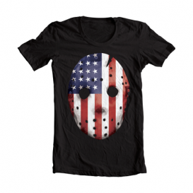Eminem HOCKEY_MASK_SHIRT-01 Emdependence Day T-Shirt (Black)