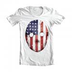 Eminem HOCKEY_MASK_SHIRT-02 Emdependence Day T-Shirt (White)