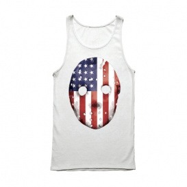 Eminem HOCKEY_MASK_SHIRT-04 Emdependence Day Tank (White)