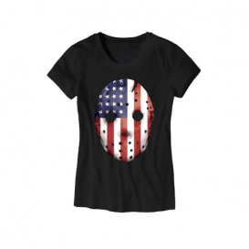 Eminem HOCKEY_MASK_SHIRT-06 Emdependence Day Women's T-Shirt (Black)
