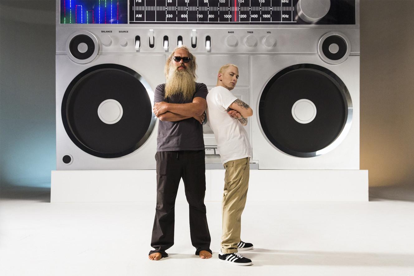 Eminem & Rick Rubin - Berzerk (Signed and numbered by Jeremy Deputat)