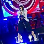 Eminem performing at Wembley Stadium 11 July 2014