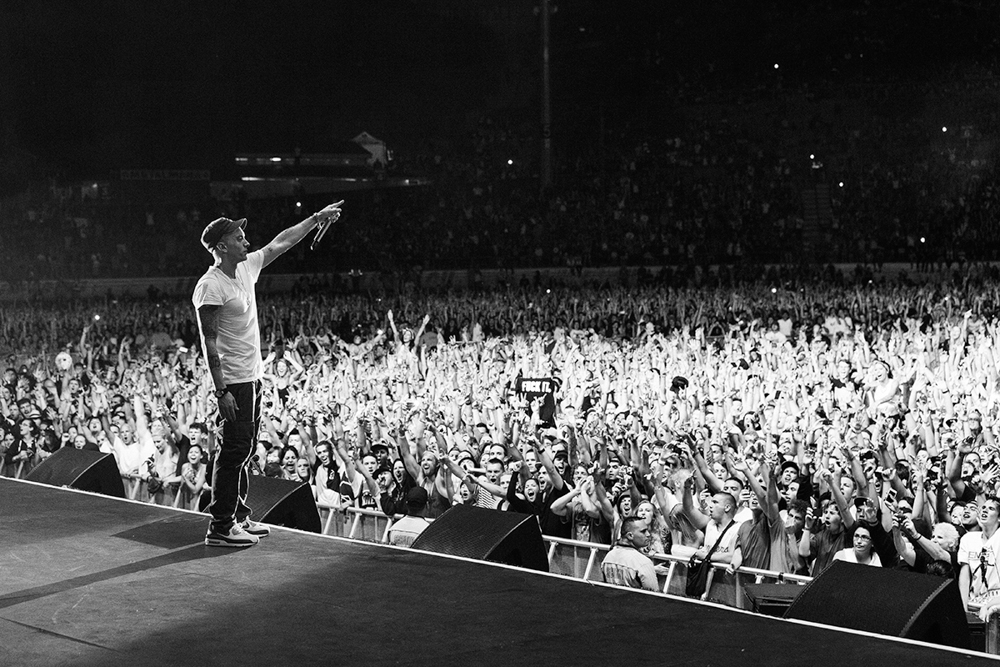 Jeremy Deputat MAKING PICTURES :: EMINEM IN NEW ZEALAND