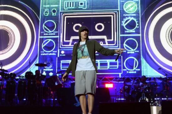 01 Eminem at Lollapalooza 2014 (Theo Wargo, Getty Images)