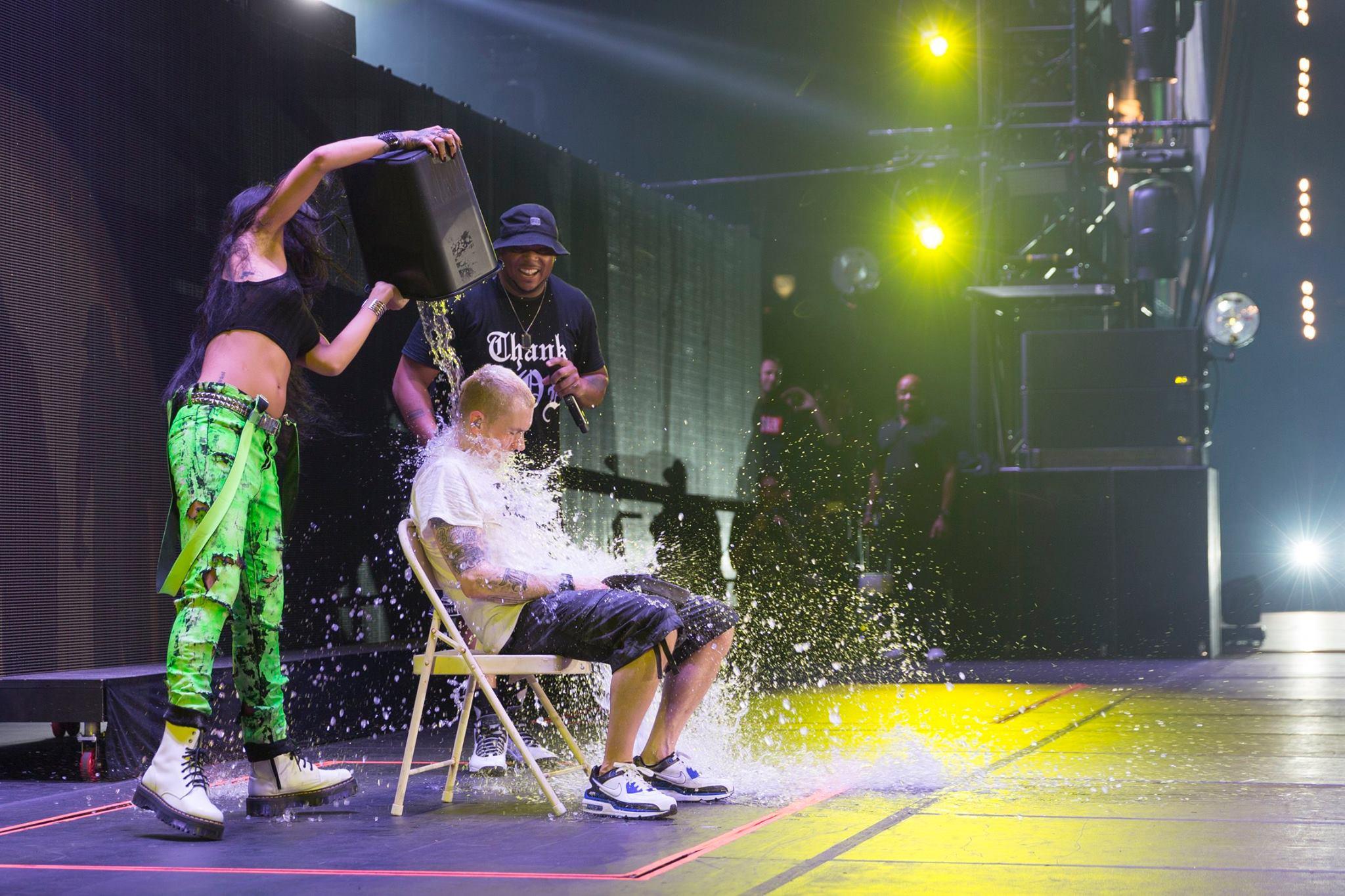 2014.08.23 - Eminem ALS Ice bucket Challenge