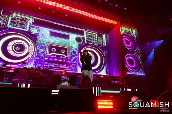 Eminem @ Squamish Valley Music Festival 2014 in Vancouver, Canada