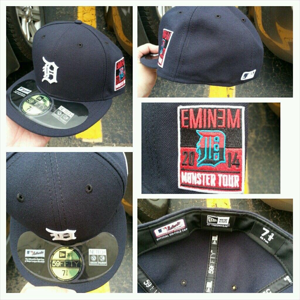 Official Tigers X Eminem X Monster Tour New Era
