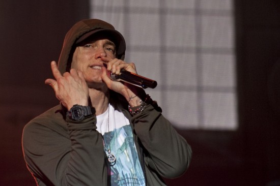 Eminem выступил на фестивале Lollapalooza 2014 (Grant Park, Chicago, Illinois) 1 августа 2014
