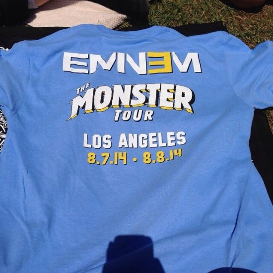 Eminem Rihanna The Monster Rose Bowl Мерчендайз