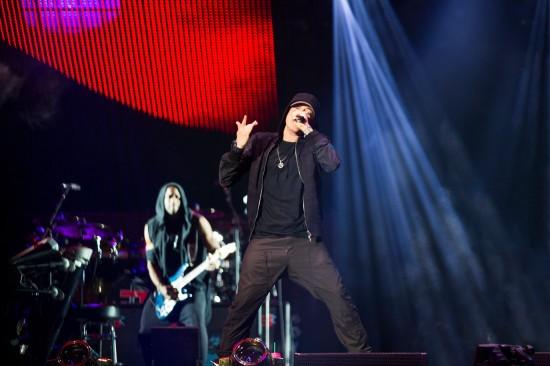 Eminem Rihanna The Monster Tour MetLife Stadium 17-08-2014 Photos by Jeremy Deputat 2