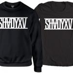 ShadyXV Limited Edition Black Crewneck Sweatshirt and T-Shirt
