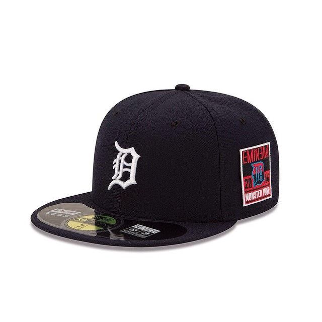 Official Tigers X Eminem X Monster Tour New Era