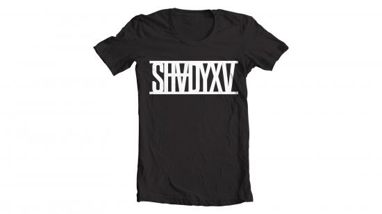 SHADYXV - Limited Edition Black T-Shirt / Чёрная футболка с белым логотипом «SHADYXV» на груди