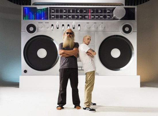 Eminem and Rick Rubin Berzerk