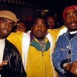 Puff Daddy, Shakim Compere, & 2Pac