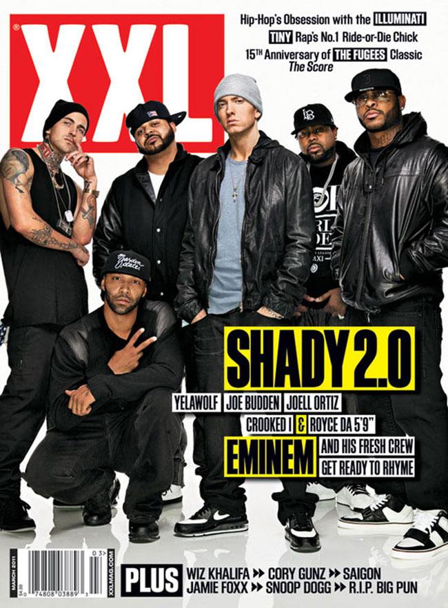 Eminem, Dr.Dre, 50 Cent XXL Magazine Cover