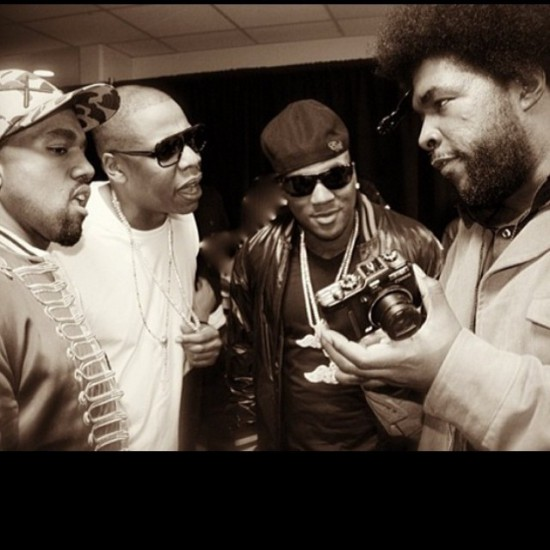 Kanye West, Jay Z, Young Jeezy, & Questlove
