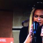 "Sky Heavens performing ""Stan"" w Eminem on BBC Radio One"