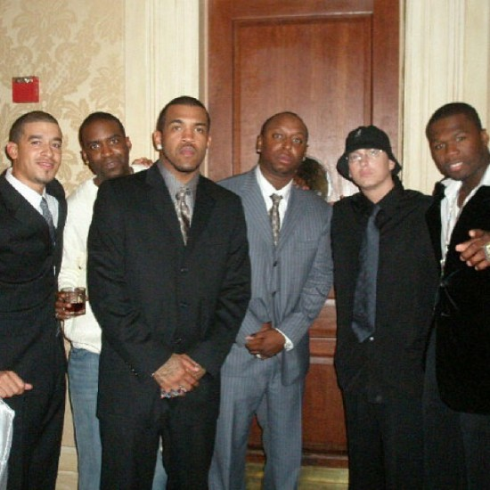 Riggs Morales, Tony Yayo, Lloyd Banks, Sha Money XL, Eminem, & 50 Cent