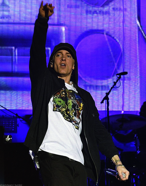 05 Eminem at Austin City Limits Music Festival 2014.10.04