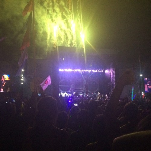 Eminem at Austin City Limits Music Festival 2014.10.04