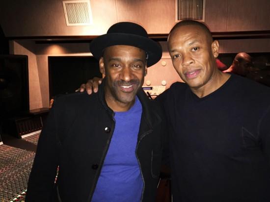 2014.10.06 - Marcus Miller и Dr. Dre