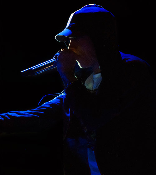Eminem at ACL 2014 (Austin City Limits Music Festival), Zilker Park, Austin, Texas 10/04/2014