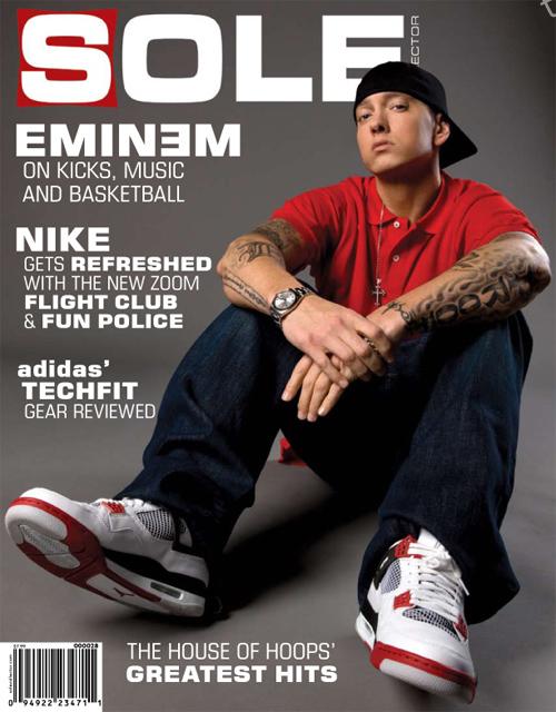 Eminem в майском номере журнала Sole Collector