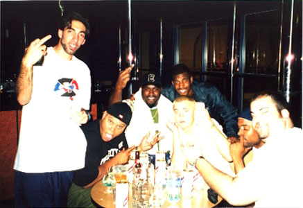 David Schwimmer, Biz Markee, Funkmaster Flex, Tommy Davidson, Maucully Culkin, Method Man, & Dick Butkus отмечают двадцатилетие журнала People / David Schwimmer, Biz Markee, Funkmaster Flex, Tommy Davidson, Maucully Culkin, Method Man, & Dick Butkus at the 20th Annual People Magazine Celebrity Dinner