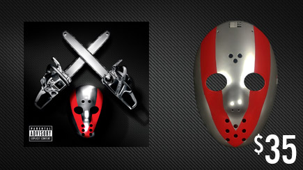 SHADYXV PRE-ORDER 2 DISC CD AND HOCKEY MASK