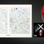 SHADYXV PRE-ORDER 2 DISC CD, LOSE YOURSELF PRINT SET, HOCKEY MASK AND BEANIE