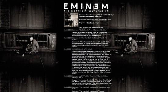 Eminem.Com 2000