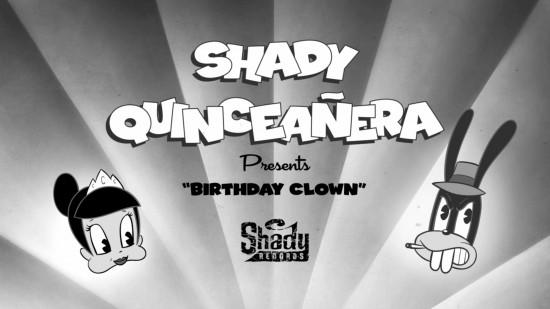 2014.11.06 - ShadyXV Birthday Clown Title