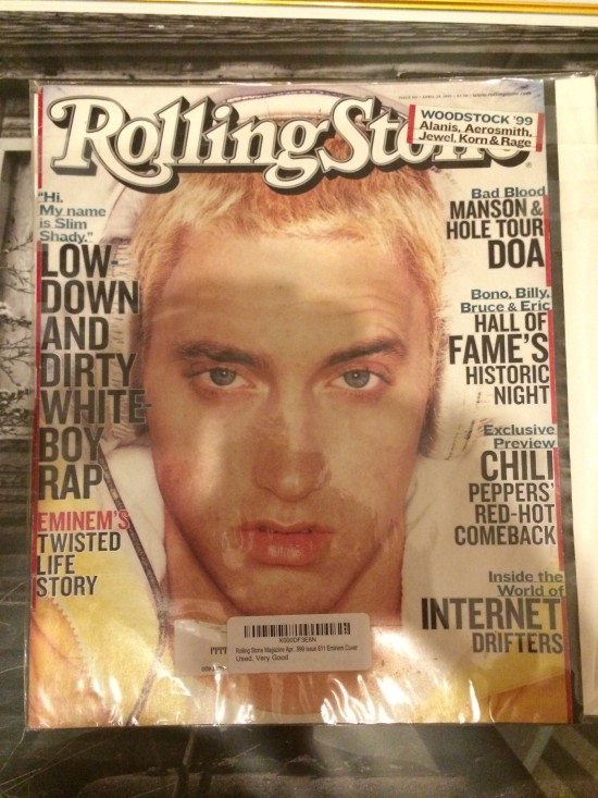 Rolling Stone Eminem Cover Issue 811: April 29, 1999