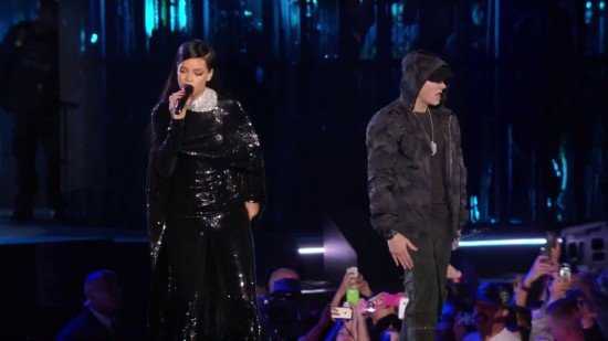 Rihanna and Eminem The Concert For Valor at The National Mall (November 11, 2014)Washington 2