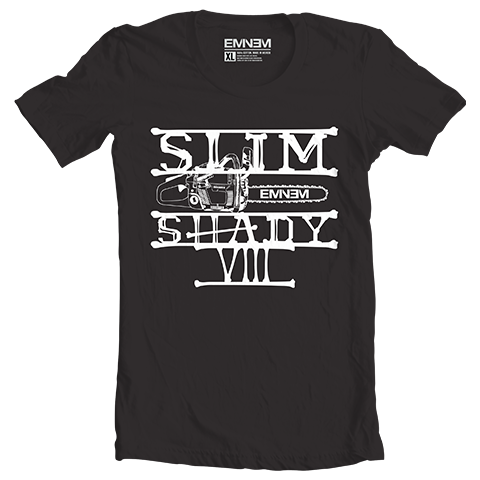 Eminem CHAINSAW T-SHIRT (BLACK)