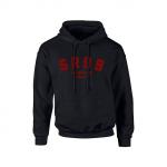 SR99 Hoodie - Red on Black