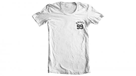 Shady 99 T-Shirt - Black on White