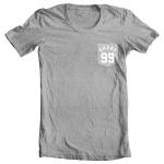 Shady 99 T-Shirt - White on Gray