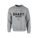 Shady Records Crewneck - Black on Heather Gray
