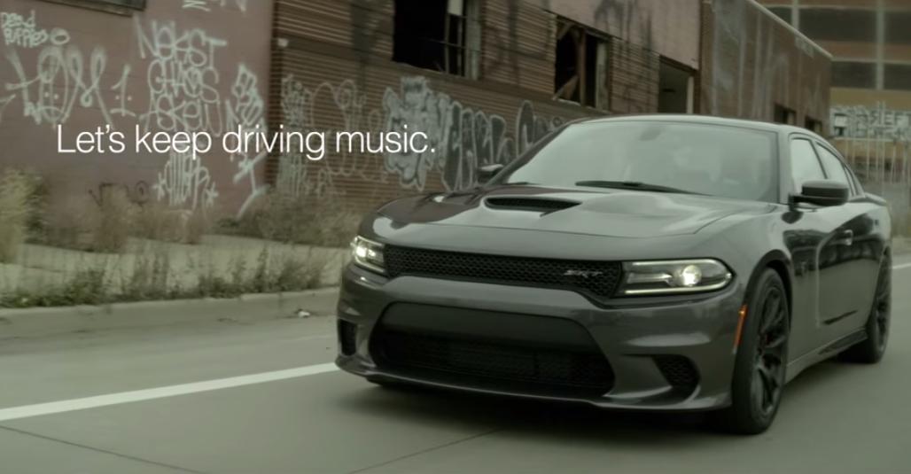 Interscope объединились с командой Chrysler для создания рекламных роликов, в которых приняли участие Eminem, Fergie, Gwen Stefani и другие исполнители